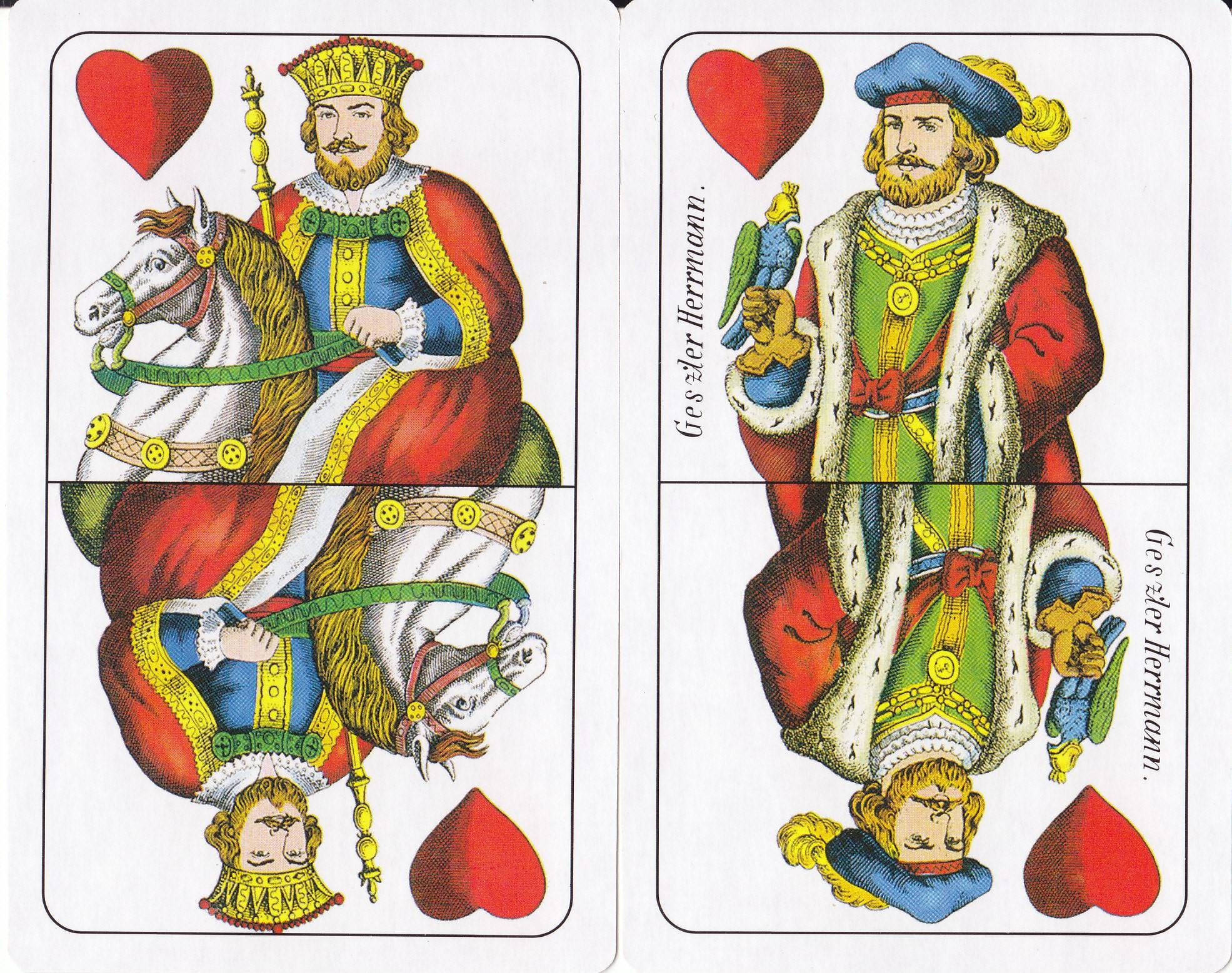 Piros király, felső