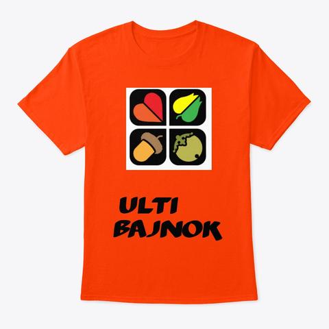 Ulti bajnok póló - ultis ajándék